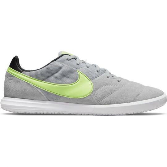 Nike Premier II Sala Zaalvoetbalschoenen Grijs Geel Wit
