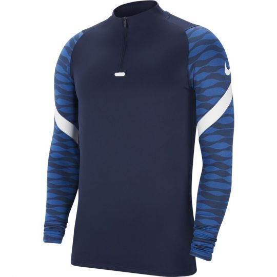 Nike Strike 21 Trainingstrui Dri-Fit Donkerblauw