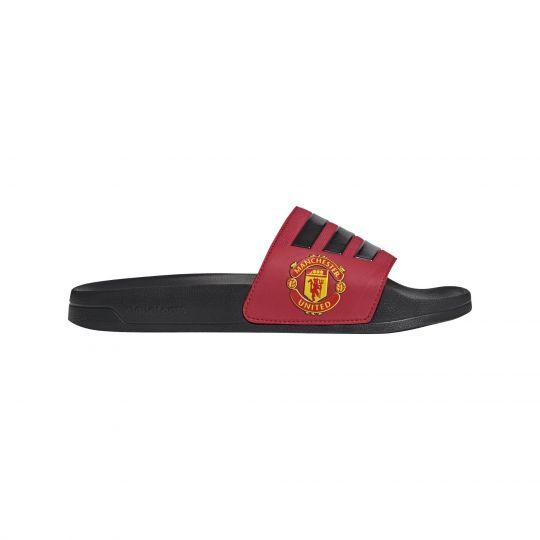 adidas Manchester United Adilette Shower Slippers Rood Zwart