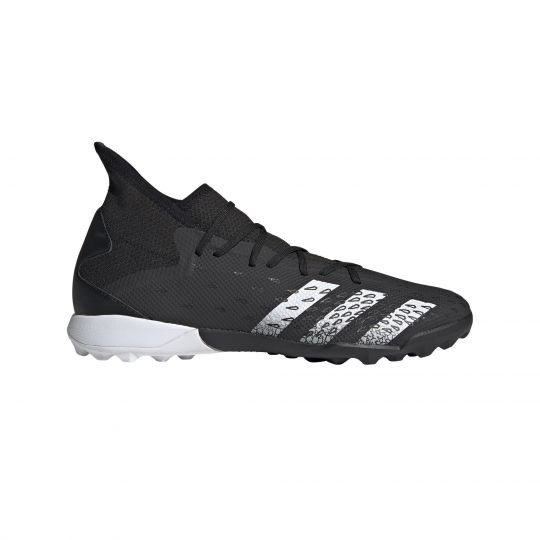 adidas Predator Freak.3 Turf Voetbalschoenen (TF) Zwart Wit Zwart
