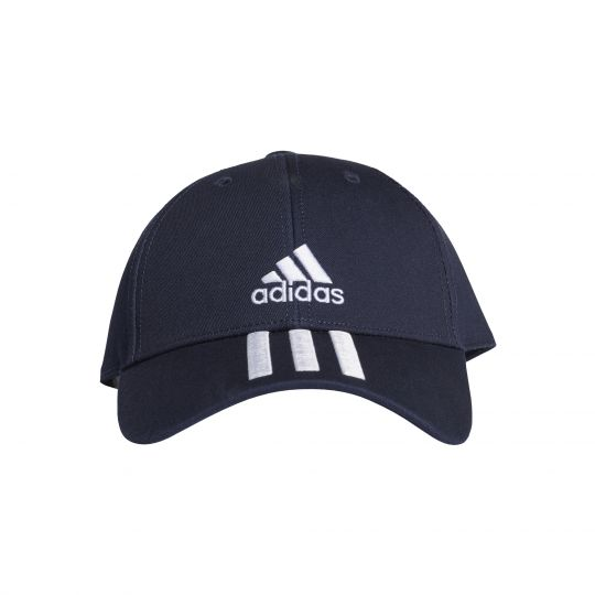 adidas Baseball 3S Cap Donkerblauw Wit