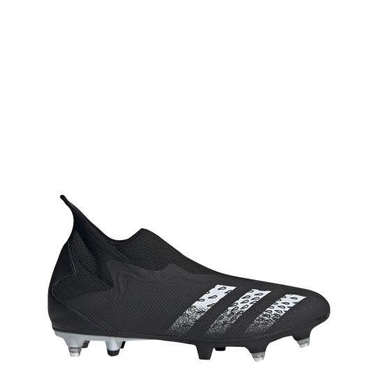 adidas Predator Freak.3 LL Ijzeren-Nop Voetbalschoenen (SG) Zwart Wit