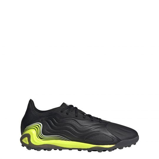 adidas Copa Sense.1 Turf Voetbalschoenen (TF) Zwart Wit Geel