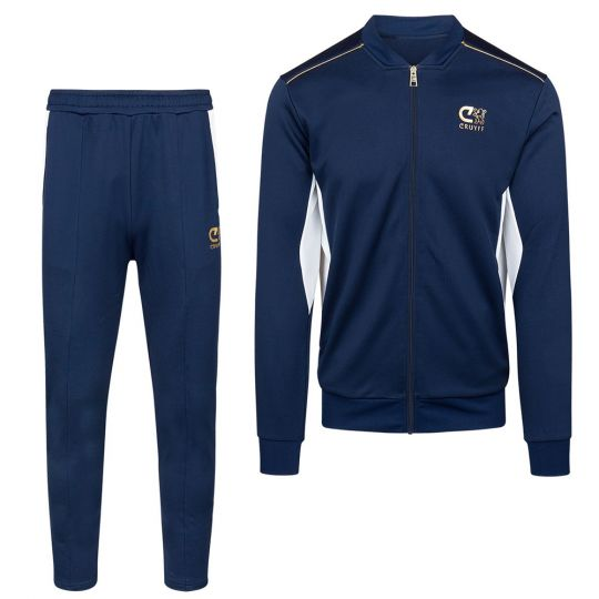 CRUYFF Miquel Trainingspak Full Zip Donkerblauw
