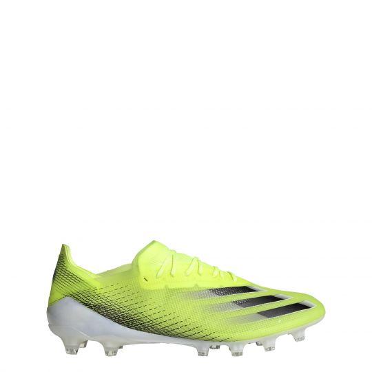 adidas X Ghosted.1 Kunstgras Voetbalschoenen (AG) Geel Blauw Wit