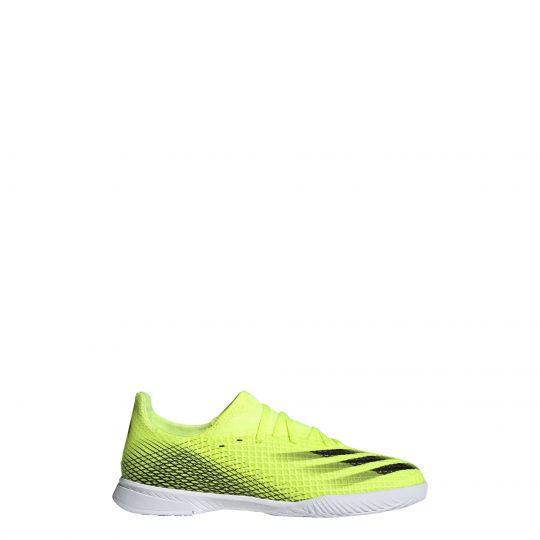 adidas X Ghosted.3 Zaalvoetbalschoenen (IN) Kids Geel Wit