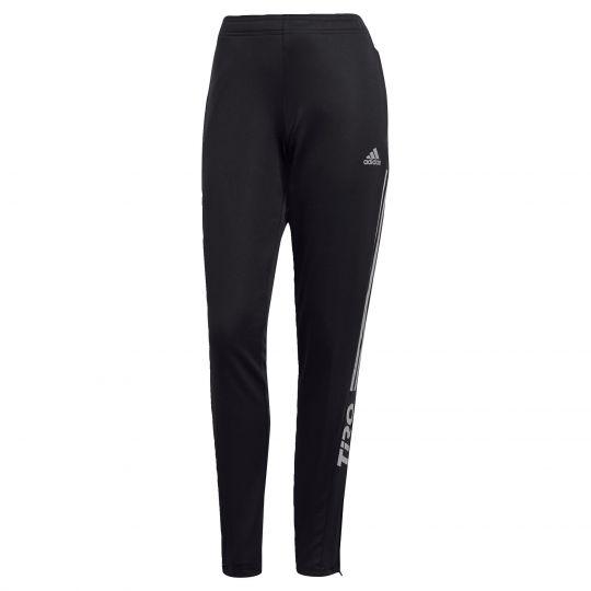adidas Tiro 21 Trainingsbroek Reflecterend Dames Zwart Wit