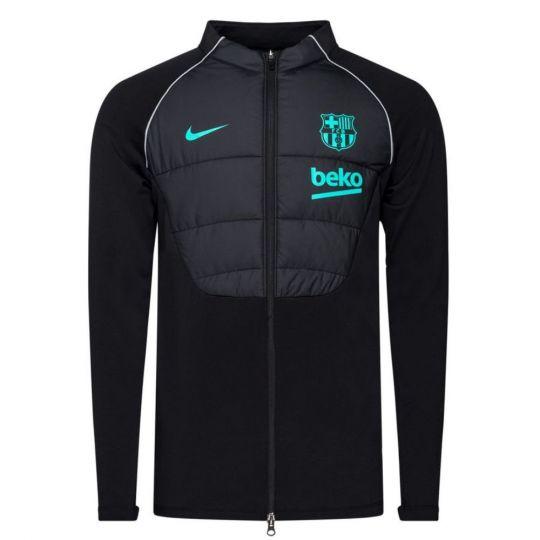 Nike FC Barcelona Therma Strike Trainingstrui 2020-2021 Zwart Roze