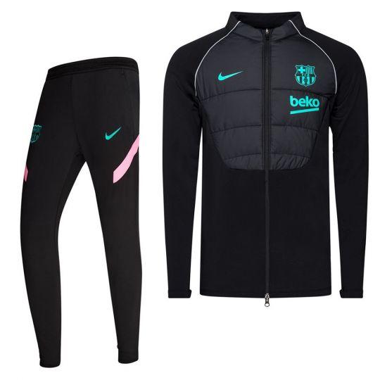 Nike FC Barcelona Therma Strike Trainingspak 2020-2021 Zwart Roze