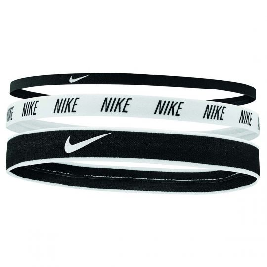 Nike Hoofdbanden Mix 3 pack Zwart Wit