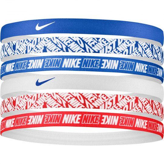 Nike Hoofdbanden 6 pack Blauw Wit rood
