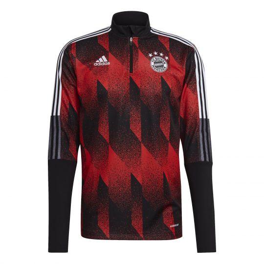 adidas Bayern Munchen Trainingstrui 2021 AOP Rood