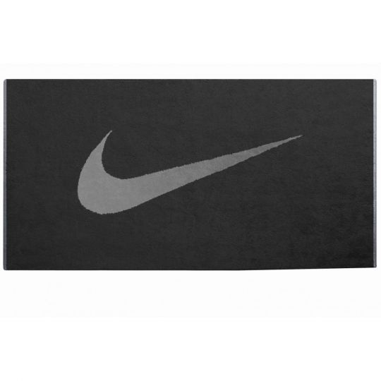 Nike Sport Handdoek M Zwart Grijs