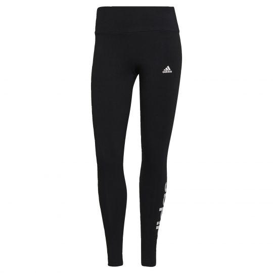 adidas LOUNGEWEAR Essentials High-Waisted Legging Zwart Wit