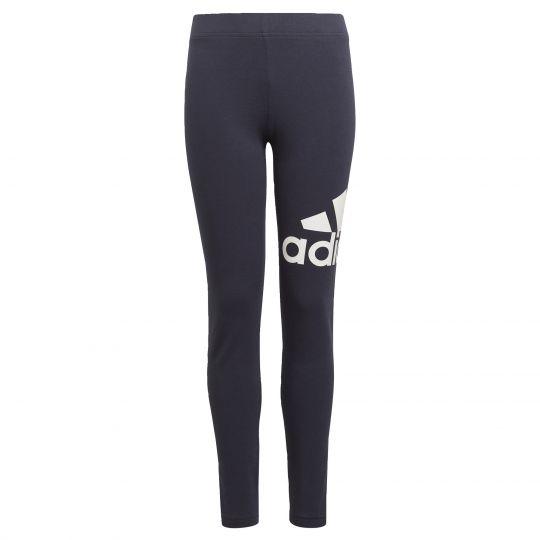 adidas Essentials Logo Legging Donkerblauw Wit
