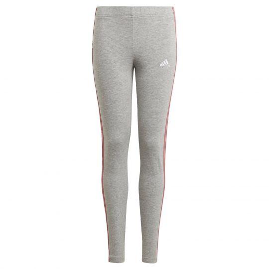 adidas Essentials 3-Stripes Legging Kids Grijs Roze
