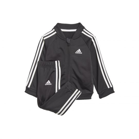 adidas 3-Stripes Tricot Trainingspak Baby / Peuters Zwart Wit
