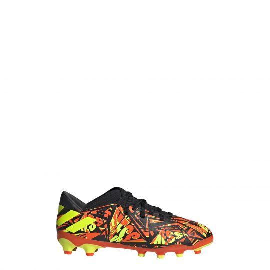 adidas Nemeziz Messi.3 Gras / Kunstgras Voetbalschoenen (MG) Kids Rood Geel Zwart