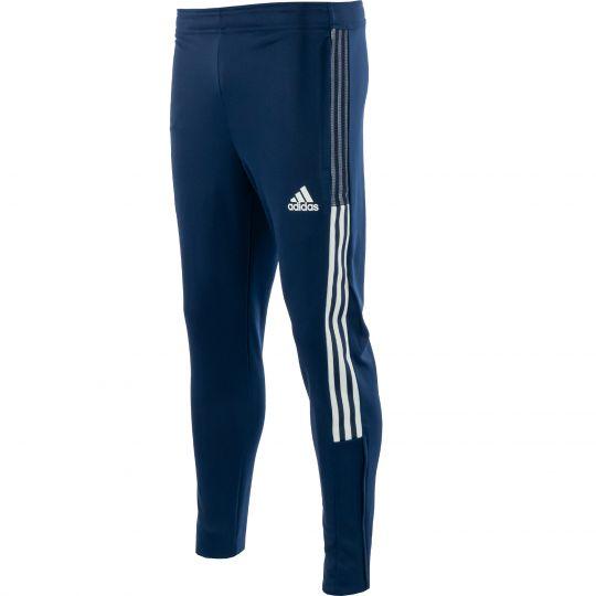 adidas Tiro 21 Track Trainingsbroek Donkerblauw Wit