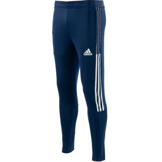 adidas Tiro 21 Trainingsbroek Slim Donkerblauw Wit