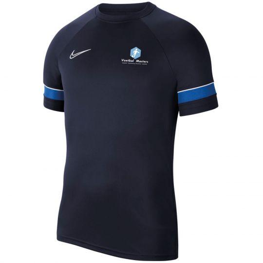 Voetbal Masters Trainingsshirt Junioren Donkerblauw