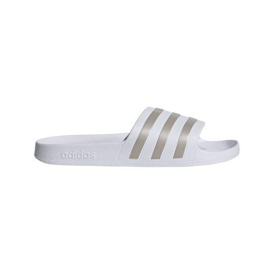 adidas Adilette Aqua Slippers Wit Brons