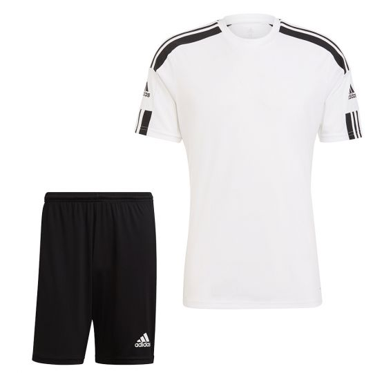 adidas Squadra 21 Trainingsset Wit Zwart