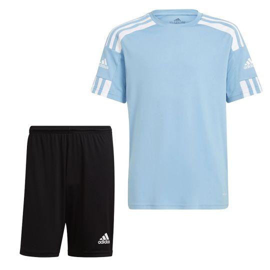 adidas Squadra 21 Trainingsset Lichtblauw Zwart