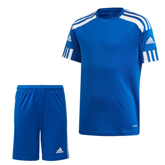 adidas Squadra 21 Trainingsset Kids Blauw Blauw