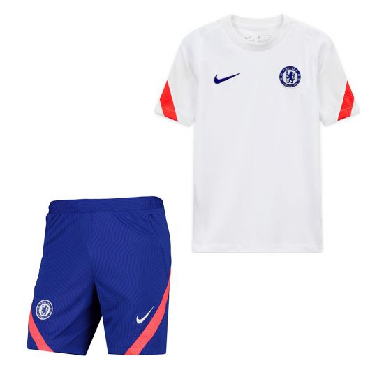 Nike Chelsea Strike Trainingsset Kids Wit Oranje Blauw