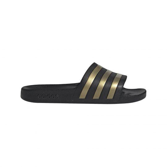 adidas Adilette Aqua Slippers Zwart Goud