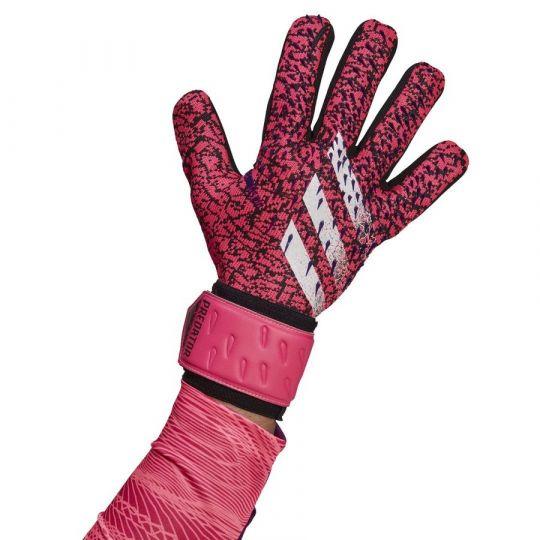 adidas Predator League Keepershandschoenen Zwart Roze Paars