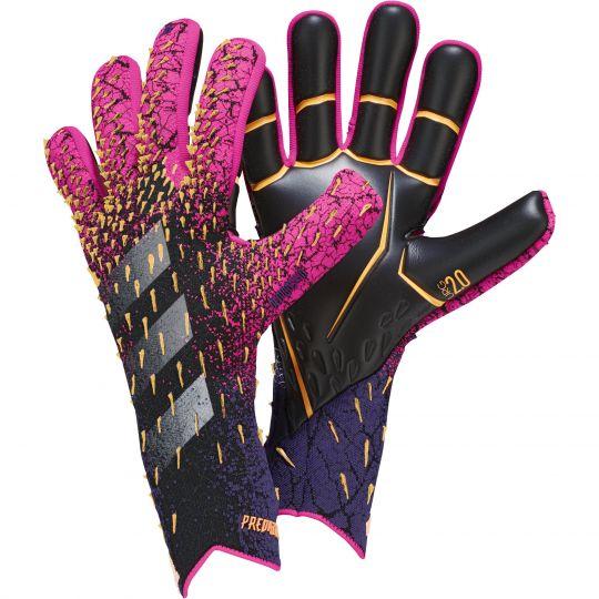 adidas Predator Pro Keepershandschoenen Zwart Roze Paars