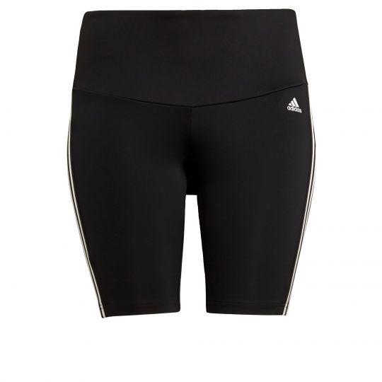 adidas Designed 2 Move High-Rise Sport Korte Legging (Grote Maat) Dames Zwart
