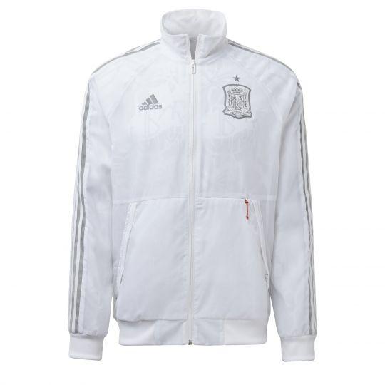 adidas Spanje Uniforia Anthem Jack Wit Grijs