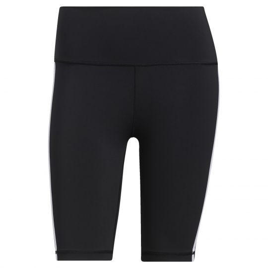 adidas Believe This 2.0 3-Stripes Korte Legging Zwart Wit