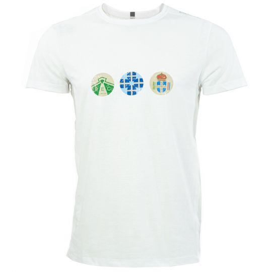 PEC Zwolle Shirt Clublogo's Wit