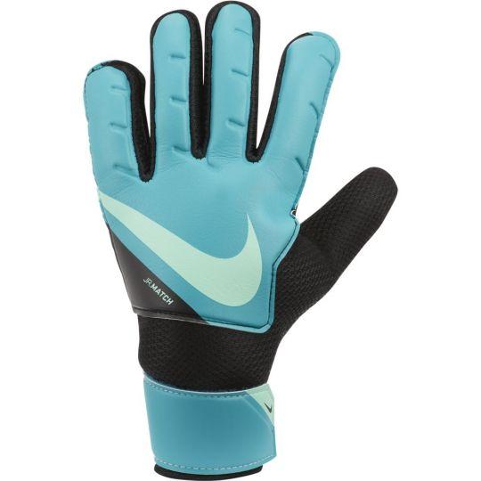 Nike Match Keepershandschoenen Kids Blauw Zwart Lime