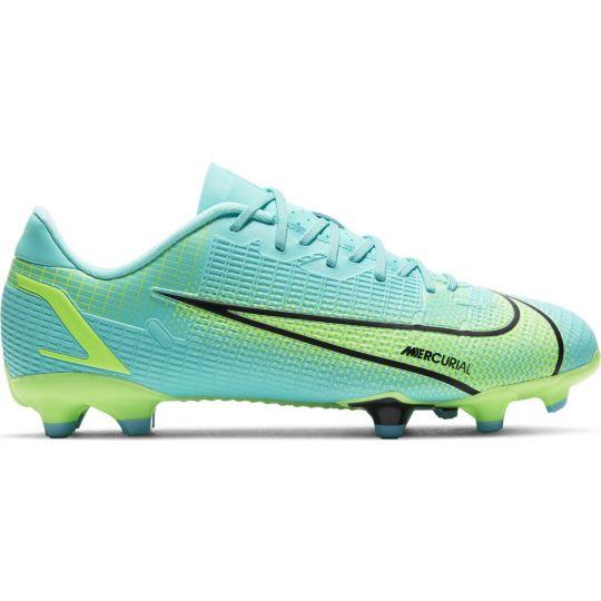 Nike Mercurial Vapor 14 Academy Gras / Kunstgras Voetbalschoenen (MG) Kids Turquoise Lime