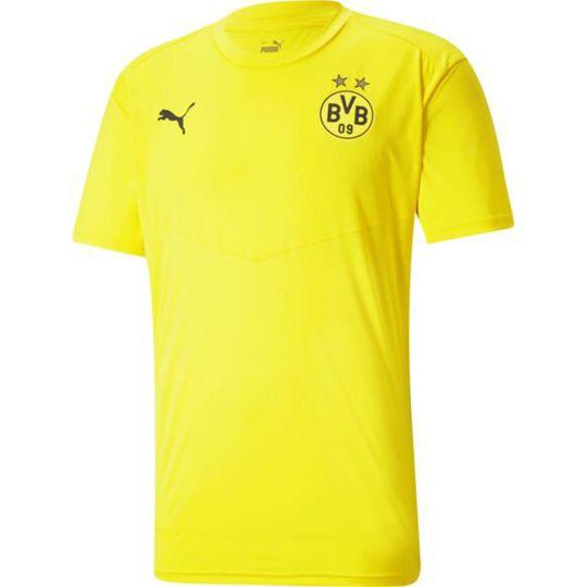 PUMA Borussia Dortmund Warming-Up Shirt 2021 Geel Zwart