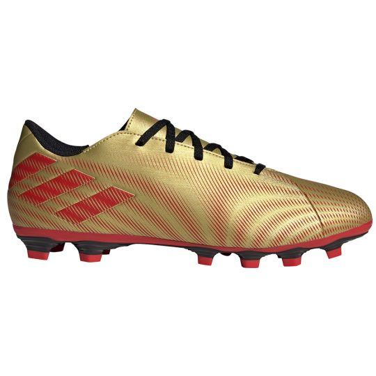 adidas Nemeziz Messi.4 Gras / Kunstgras Voetbalschoenen (FxG) Goud Rood Zwart