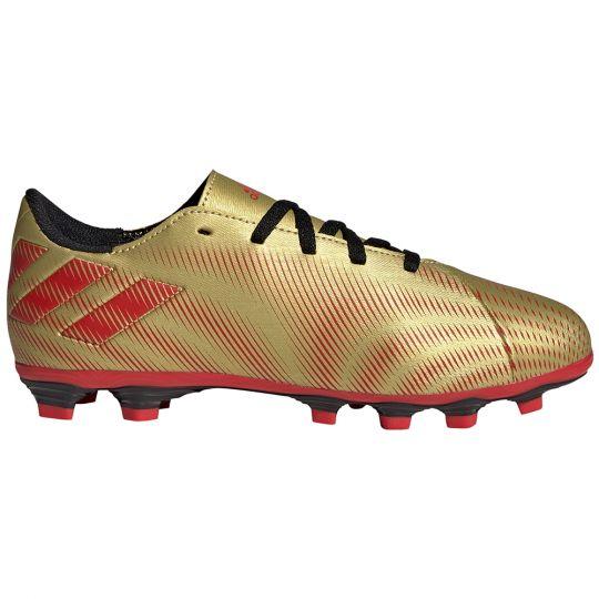 adidas Nemeziz Messi.4 Gras / Kunstgras Voetbalschoenen (FxG) Kids Goud Rood Zwart