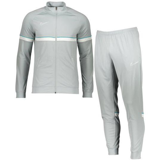 Nike Academy Trainingspak Lichtgrijs Wit