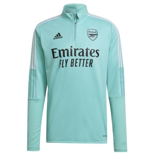 adidas Arsenal Trainingstrui 2021-2022 Mintgroen