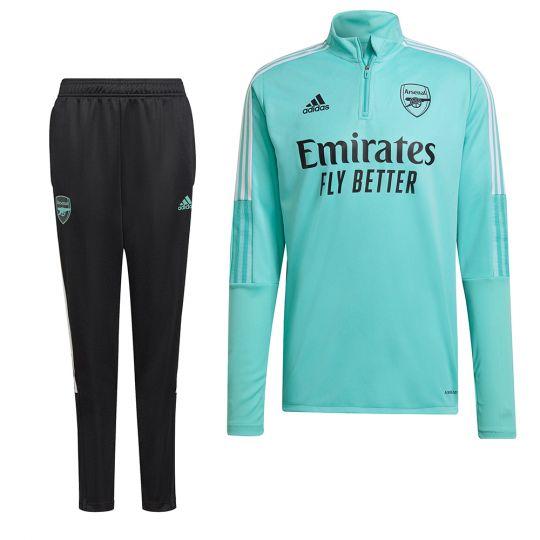 adidas Arsenal Trainingspak 2021-2022 Mintgroen