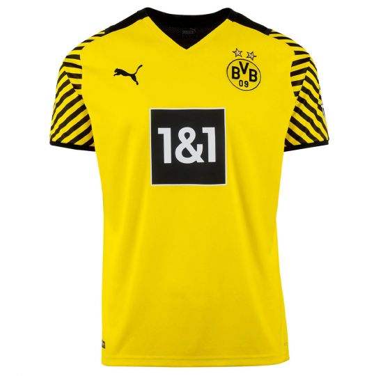 PUMA Borussia Dortmund Thuisshirt 2021-2022 Kids