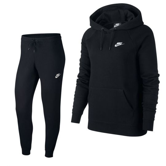Nike Essentials Trainingspak Dames Zwart