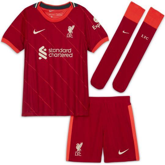 Nike Liverpool Thuis Minikit 2021-2022 Kids