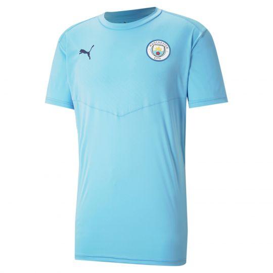 PUMA Manchester City Warming-Up Shirt 2021 Lichtblauw Donkerblauw