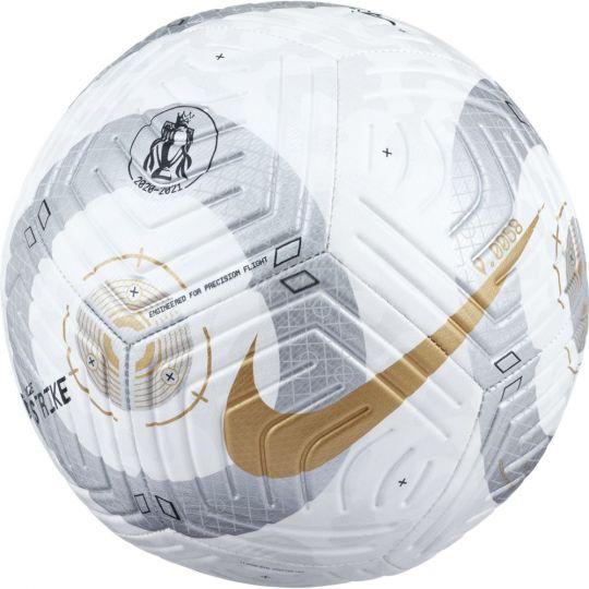 Nike Premier League Strike Voetbal Maat 5 Wit Zilver Goud
